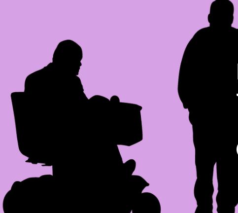 Möta pat med funktionsnedsättning